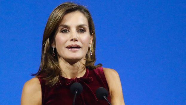 La reina de España, Letizia, clausuró la cumbre mundial de líderes contra el cáncer. (CasadelRey)