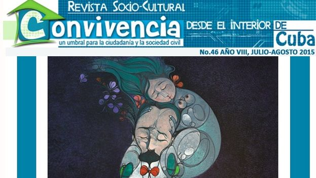 Fragmento de la portada del número 46 de 'Convivencia'