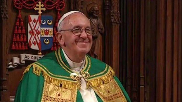 El papa Francisco en Nueva York. (Catedral de San Patricio)