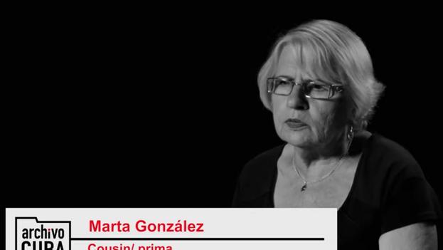 Gerardo Fundora, primo de Marta González, fue fusilado en octubre de 1960 en el campo de tiro de Limonar, Las Villas. (Captura)
