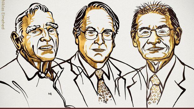 Goodenough, Whittingham y Yoshino se consideran los padres de las baterías móviles. (Nobel Prize)