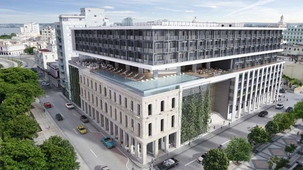 La compañía española Iberostar Hotels & Resorts administrará el establecimiento, segundo de gran lujo en La Habana. (Iberostar)