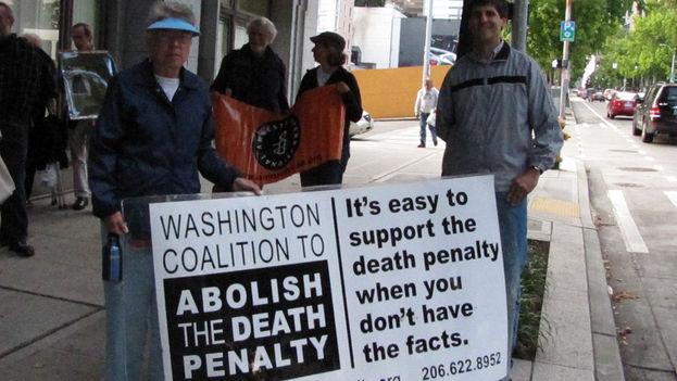 Manifestación para pedir la abolición de la pena de muerte en EE UU. (Flickr/CC)