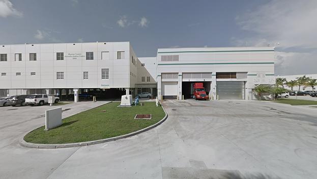 Monroe Detention Center, uno de los centros de detención de inmigrantes analizados para el informe. (Google)