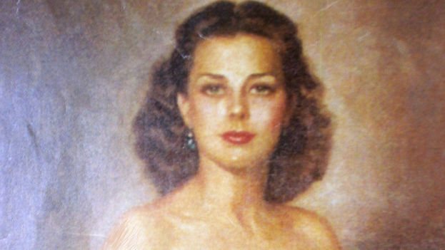 Natalia Revuelta Clews en un retrato de Félix de Cossío.