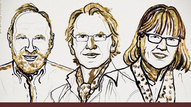 Los ganadores del Nobel de Física se reparten el premio en partes desiguales, llevándose Ashkin la mitad. (Nobel Prize)
