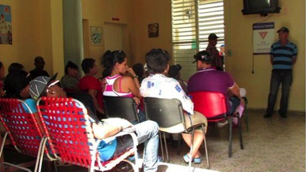 Oficina del carné de identidad en Camagüey. (14ymedio)