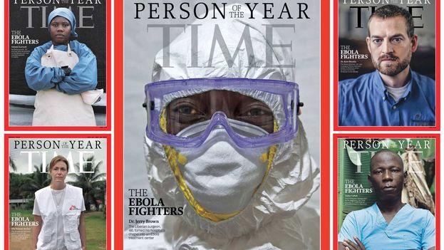 Portada de la revista 'Time'.