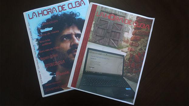 Primeros dos números de la revista 'La Hora de Cuba'