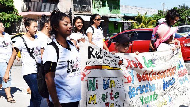 El Salvador es uno de los pocos países en el mundo en que el aborto está prohibido en todas las circunstancias. (agrupacionciudadana.org)