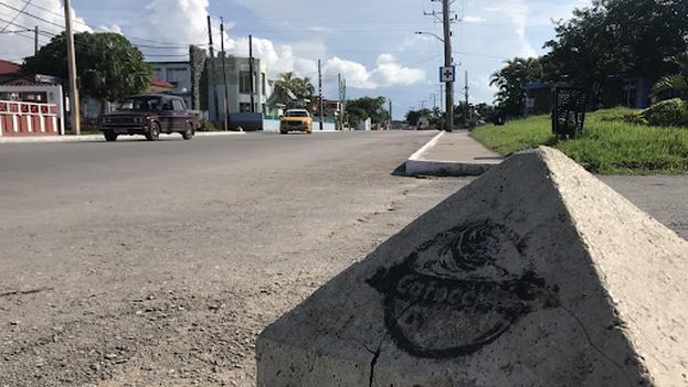 Las calles de Santa Marta (Cardenas), a poca distancia de Varadero, están vacías desde que las autoridades decretaron la cuarentena el pasado 27 de agosto. (14ymedio)