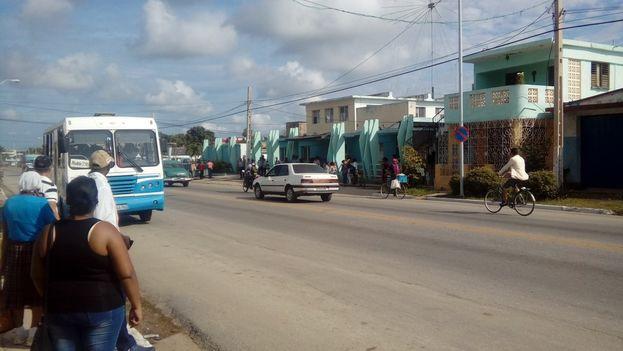 Segunda Estación de la Policía en Camagüey donde se suicidó Michel Ramírez Acosta de 36 años. (14ymedio)