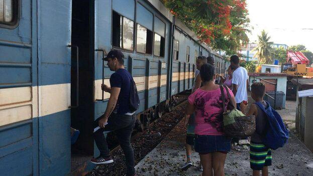 Tren a Guanabo