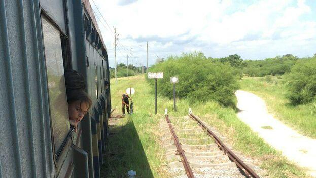 Al regresar, los niños ya no tenían tantas ganas de hacerlo en tren. (!4ymedio)
