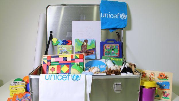 Unicef envió a Cuba más de 200 'kits' para la primera infancia en los círculos infantiles más afectados por Irma, según la propia agencia. (@UnicefCuba)
