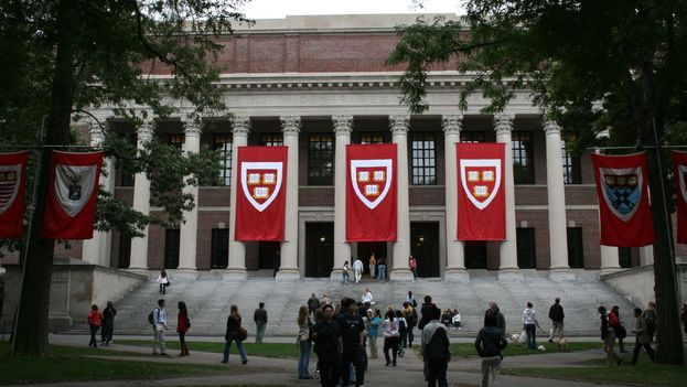 Widener Library, en Harvard University. (CC)