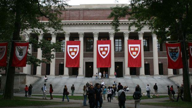 Widener Library, en Harvard University. (CC)
