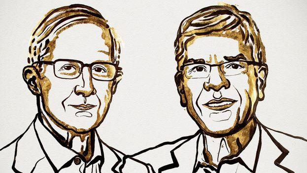 William D. Nordhaus y Paul M. Romer, Nobel de Economía, cierran la serie de premiados de este 2018. (Nobel Prize)