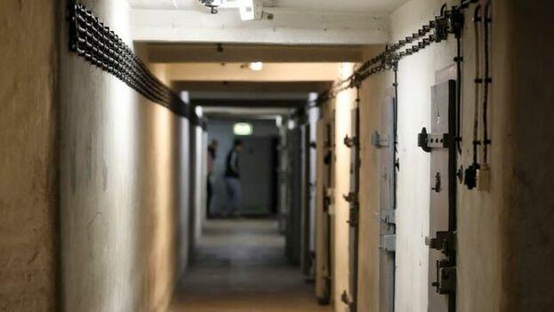 Celdas de aislamiento de la antigua prisión de la Stasi en la antigua República Democrática Alemana (RDA), en Berlín (EFE)