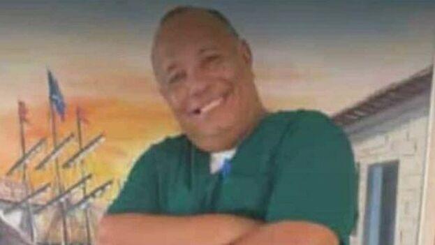El cardiólogo Orlando Quintana, cuarto médico cubano que fallece en Venezuela por covid-19. (Twitter/@RosaBeautyful)