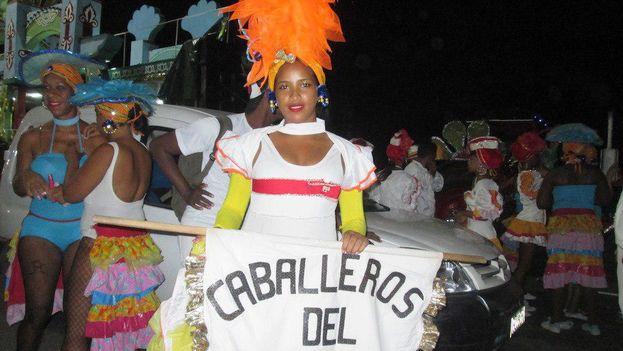 Las celebraciones del carnaval habanero duran apenas dos fines de semana y están bajo rigurosas medidas de seguridad. (14ymedio)