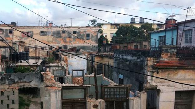 Una de las imágenes de la colección ganadora, Habana milagrosa. (R. Rivas)