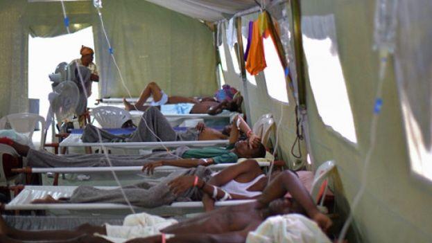 El brote de cólera aún no ha sido erradicado de Haití. (Médicos sin Fronteras)
