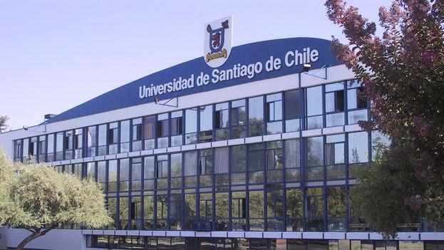 Un edificio de la Universidad de Santiago de Chile.