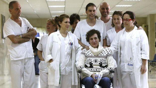 La auxiliar de enfermería Teresa Romero. (EFE/Fernando Alvarado)