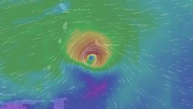 Entre tres y seis de los huracanes previstos para esta temporada podrían llegar a ser mayores, es decir con vientos máximos sostenidos de 178 km/h o más. (NOAA)