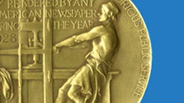 El logo de los Premios Pulitzer.