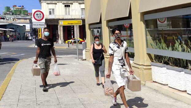 La mitad de contagios de toda la Isla se producen en La Habana. (14ymedio)