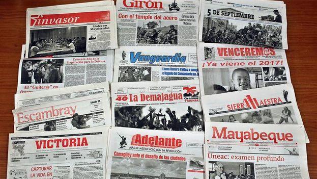 Los periodistas de provincia tienen menor acceso a las grandes fuentes y menos facilidades que sus colegas de la capital, pero más capacidad para tratar asuntos enfocados en el territorio. (EFE/Alejandro Ernesto)