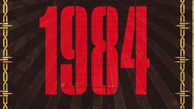 La portada de '1984' de George Orwell.
