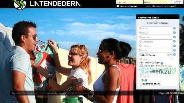 La red social cubana La Tendedera.